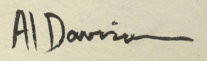 Al DAVISON's Signature