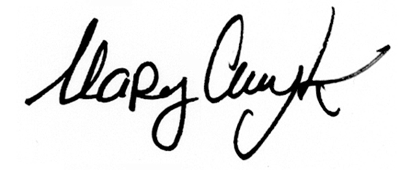 marycmyk's Signature