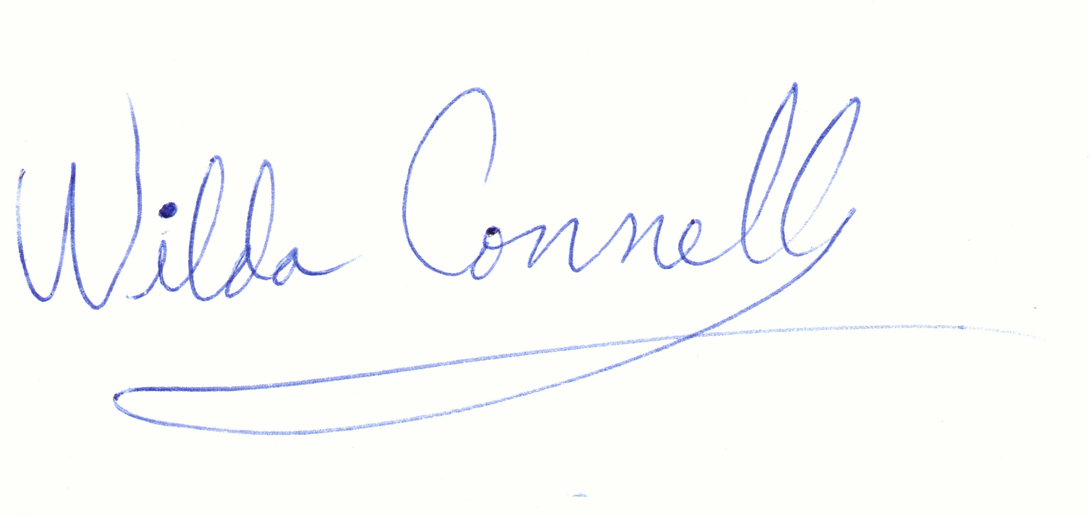 wildaconnell's Signature
