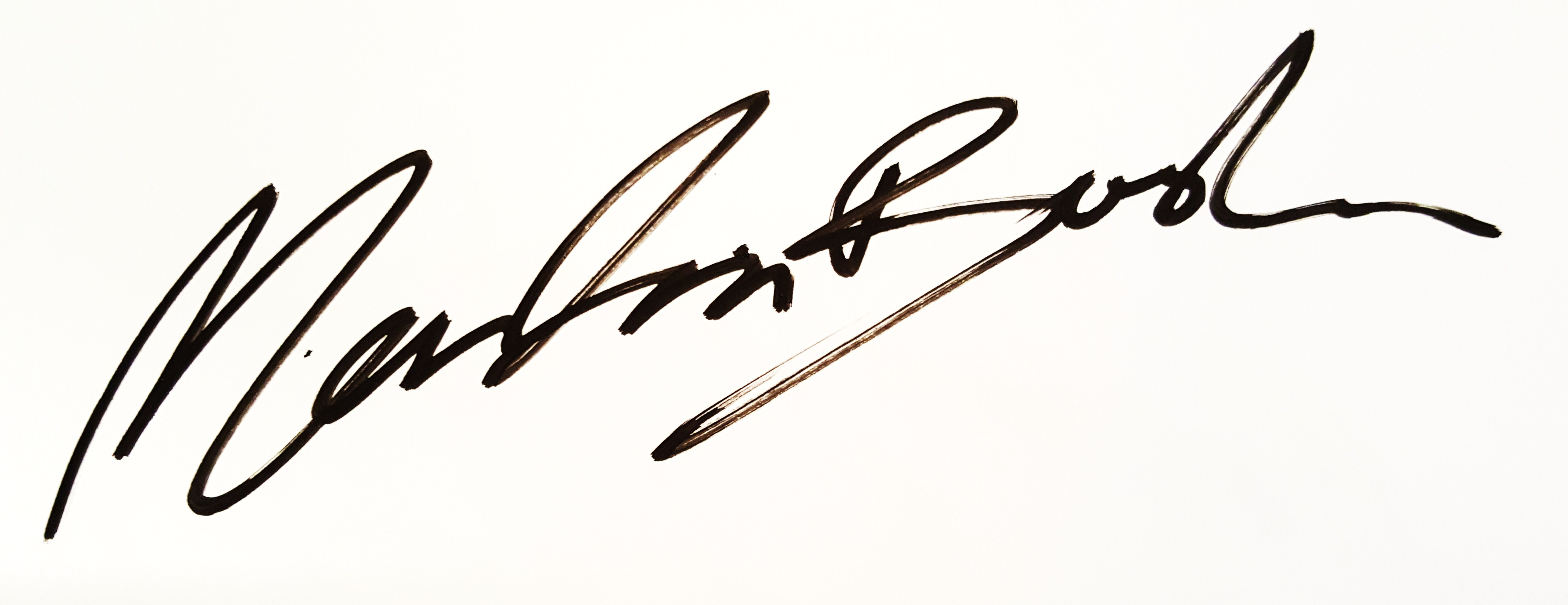 Martin Bush Fine Art's Signature