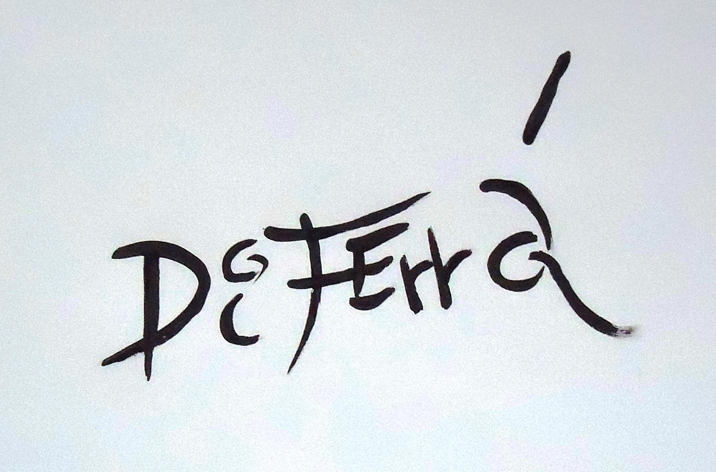Di Ferrá's Signature