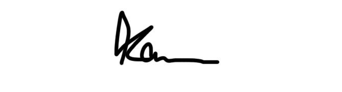 karen lawrenson's Signature