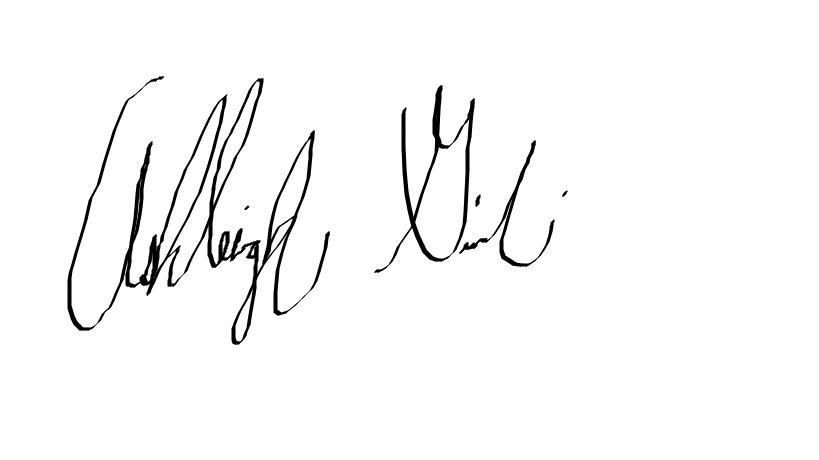 ashleigh Gismondi's Signature