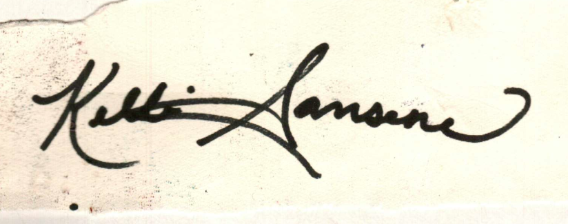 kellisansone's Signature
