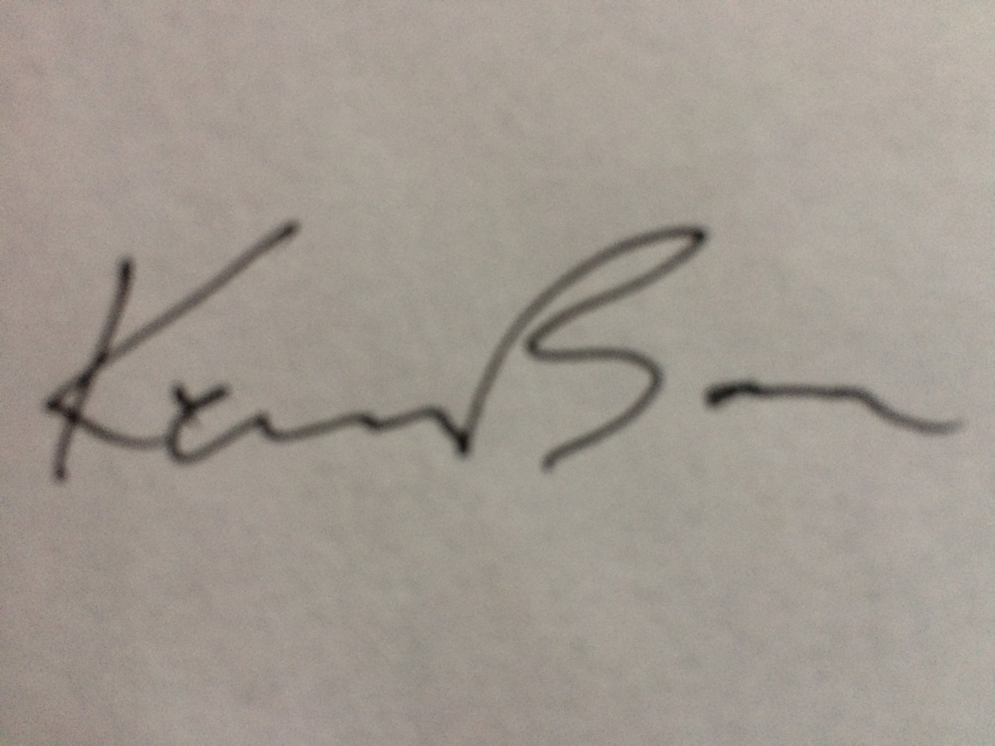 kennbass's Signature