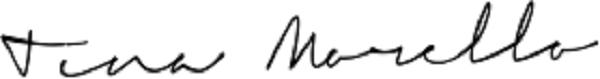 tina morello's Signature