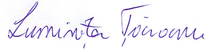 luminita taranu's Signature