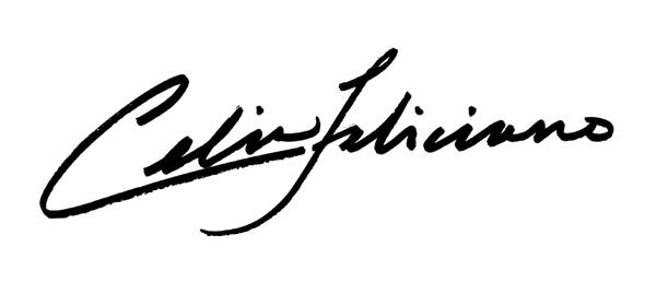 celia feliciano's Signature