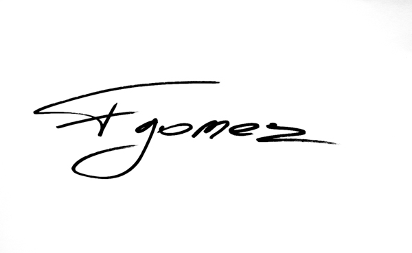 Francisco Gomez's Signature