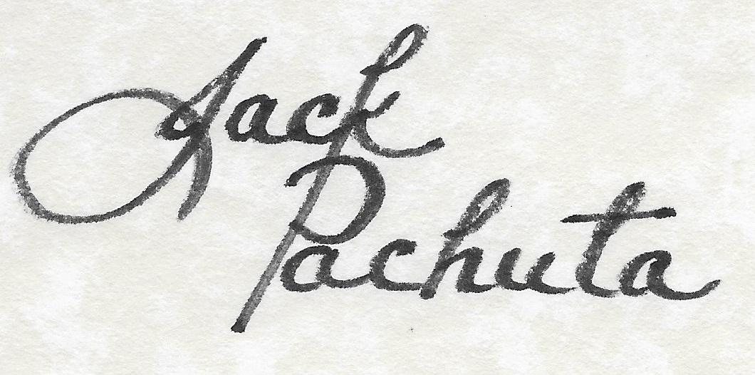 jack pachuta's Signature