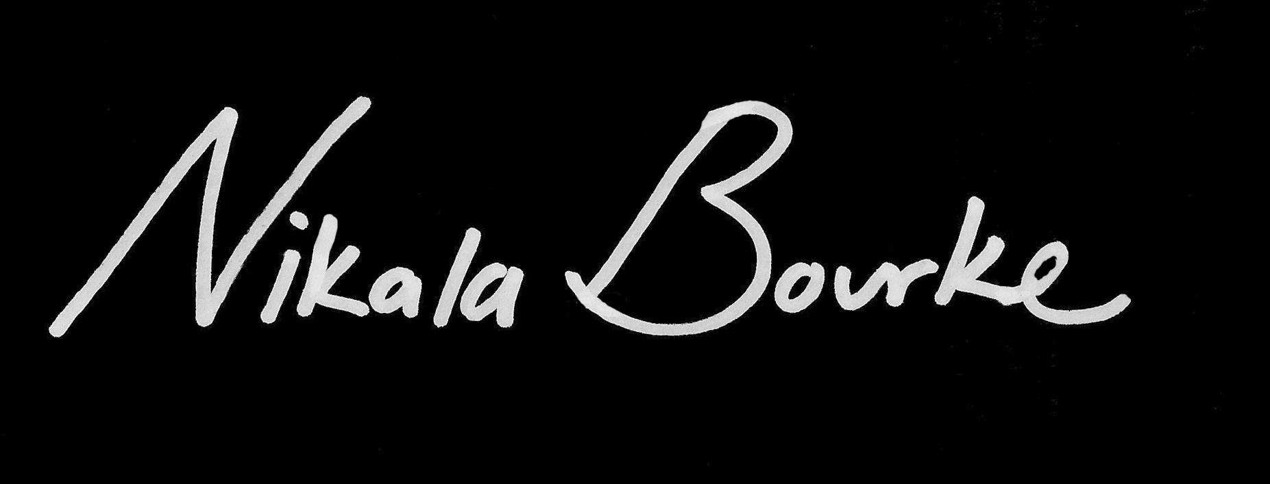 Nikala bourke's Signature