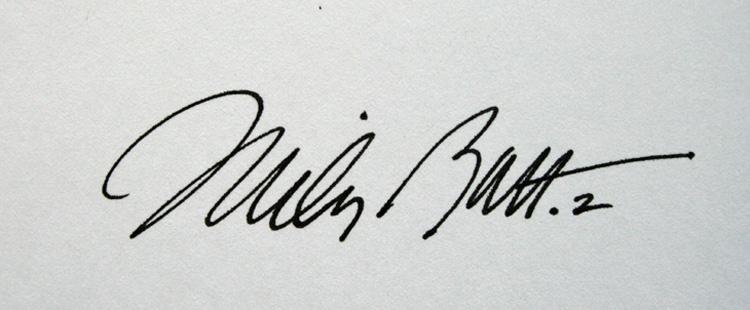 mbattman's Signature
