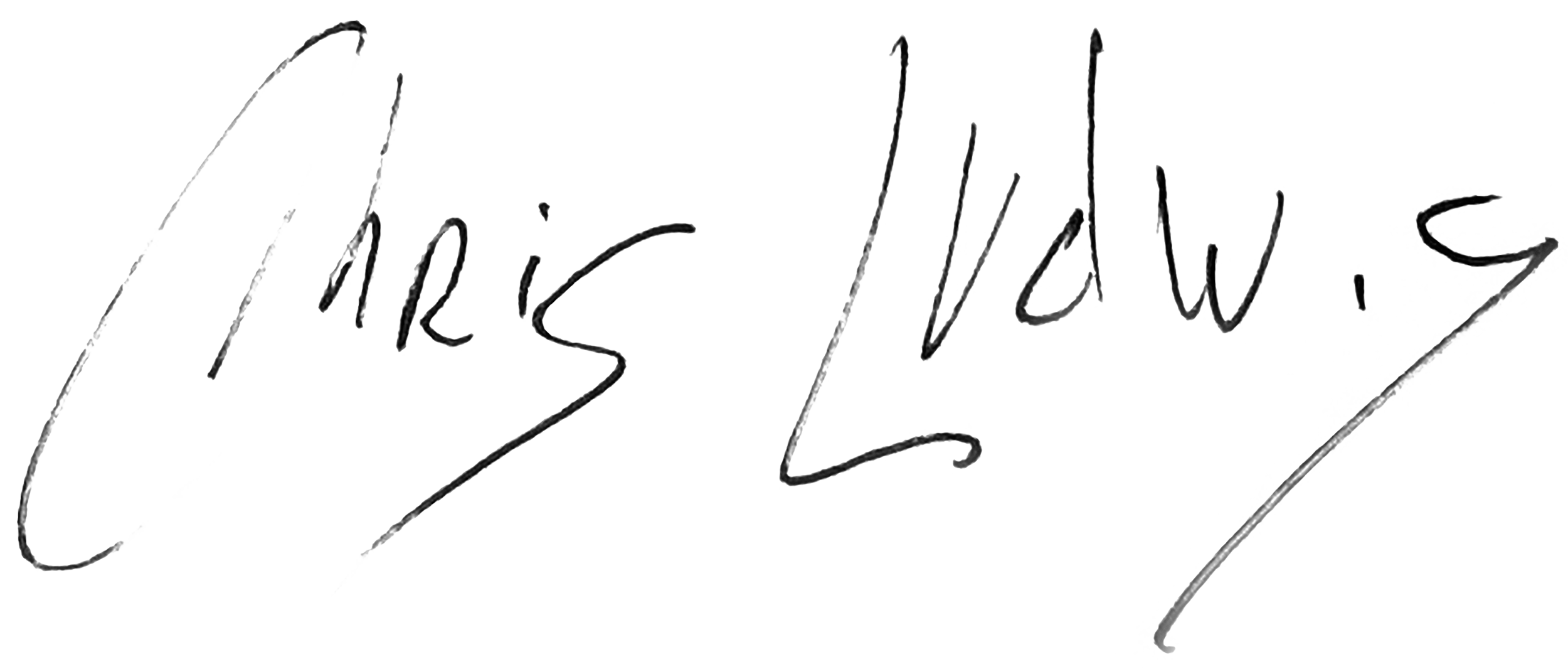Chris ludwig's Signature