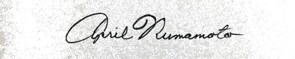 April Numamoto's Signature