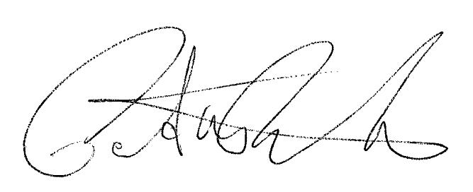 pat robeck's Signature