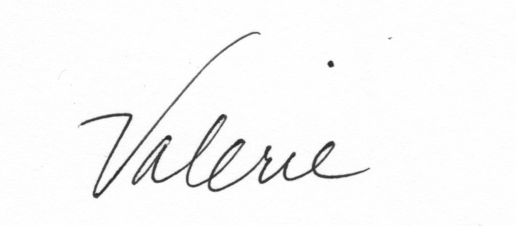 valerie's Signature