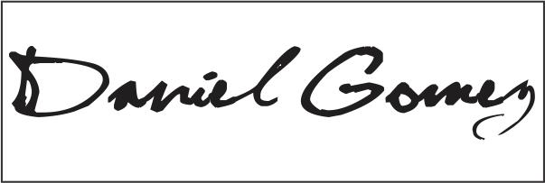 Daniel gomez's Signature