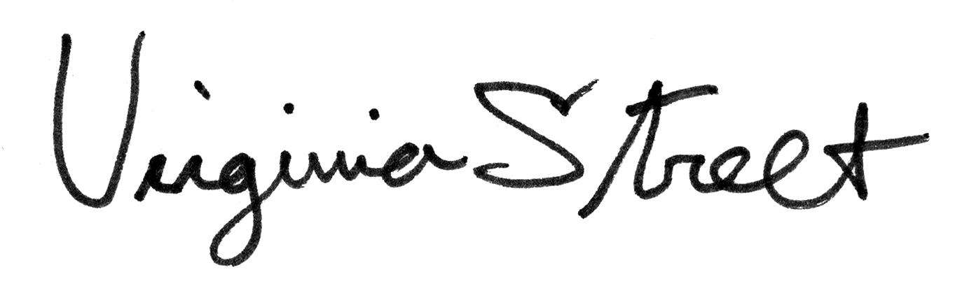 virginia street's Signature