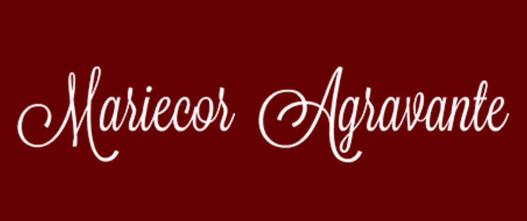 Mariecor Agravante's Signature