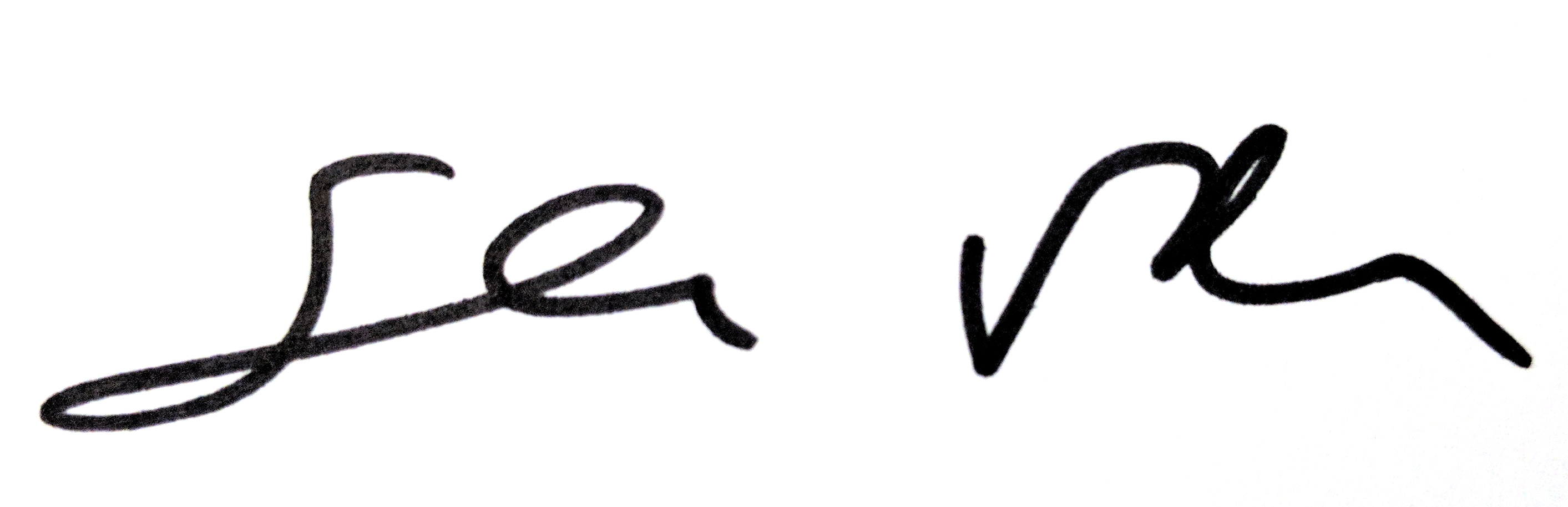 salvATORE ventura's Signature