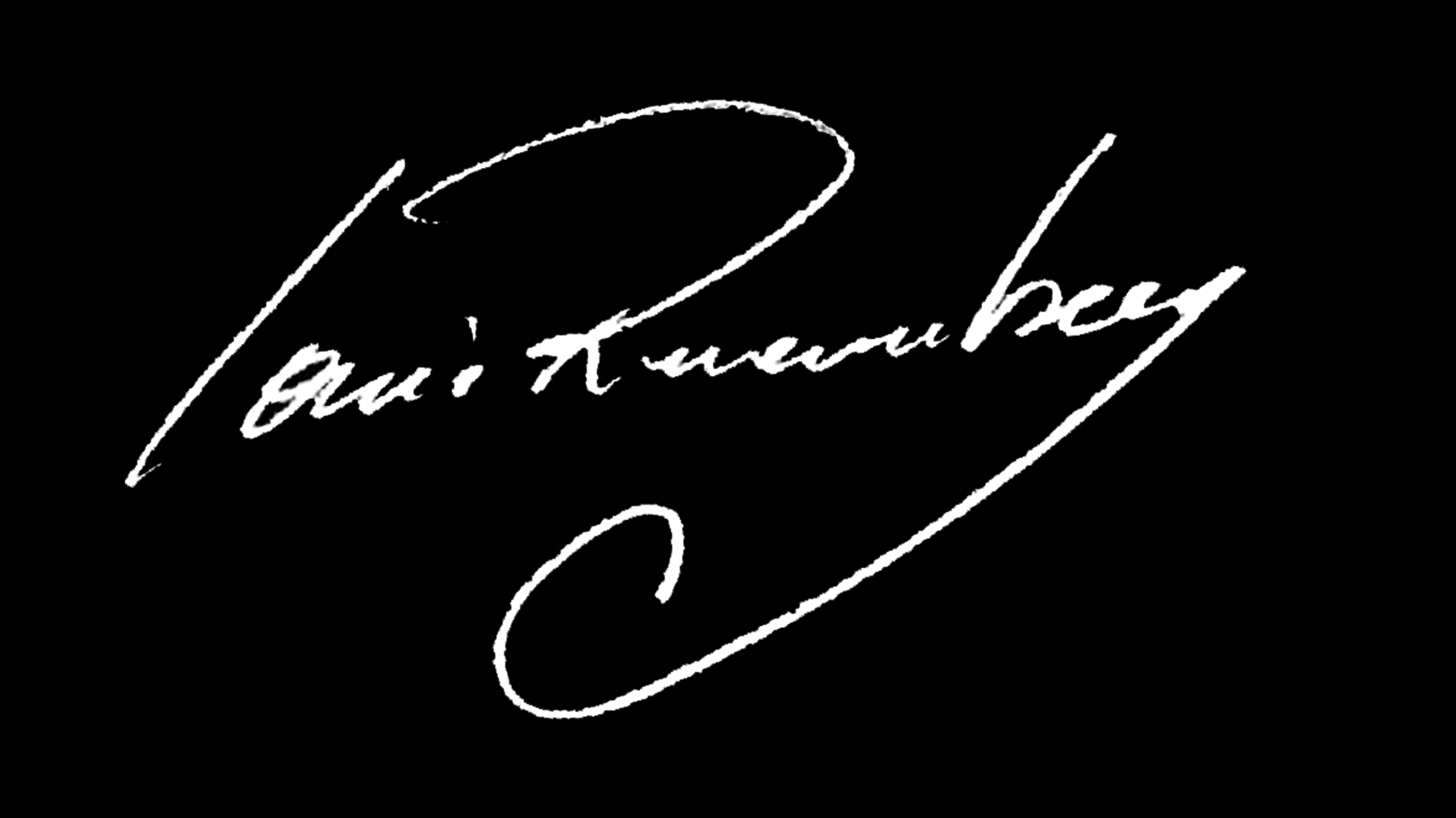 LOUIS runemberg's Signature