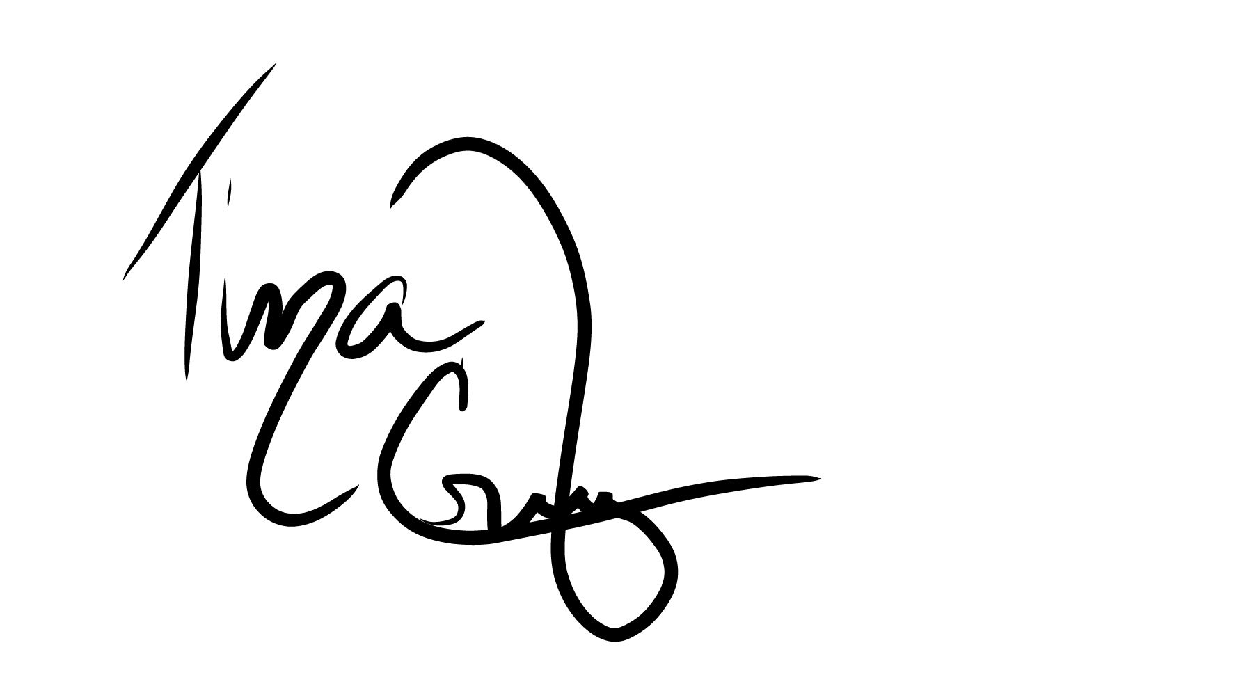 Tina Cruz's Signature