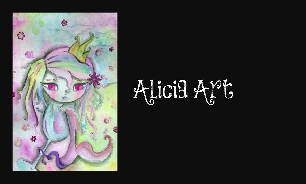 alicia Art's Signature