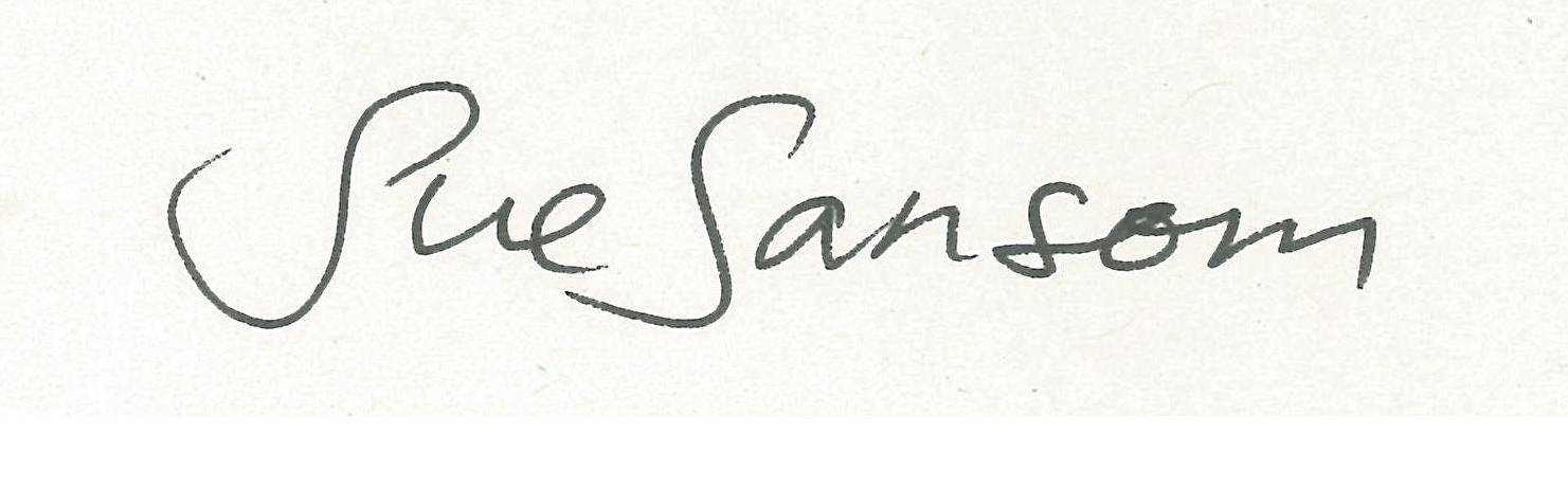 sue sansom's Signature