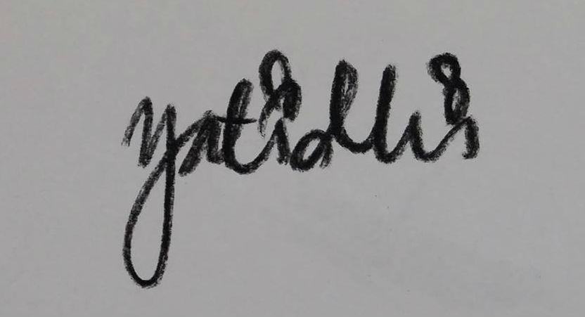 Yati min's Signature