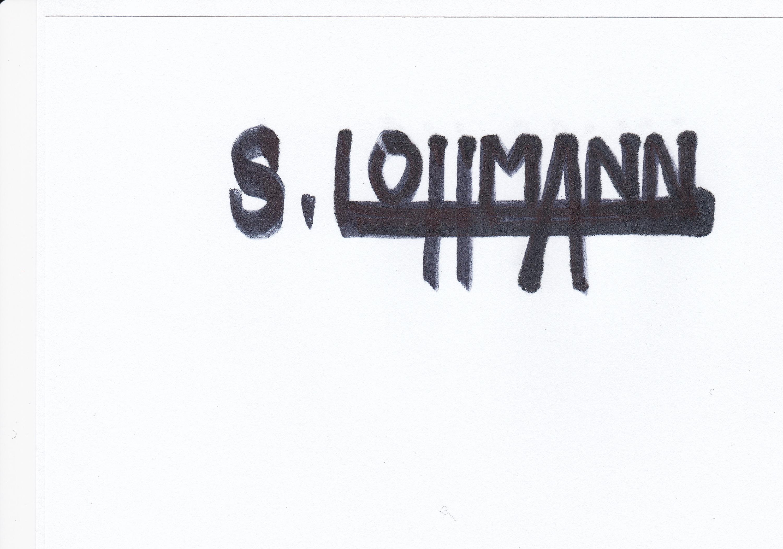 Sylvie LOHMANN's Signature