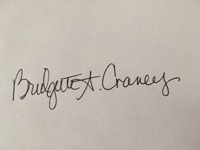 bridgette craney's Signature