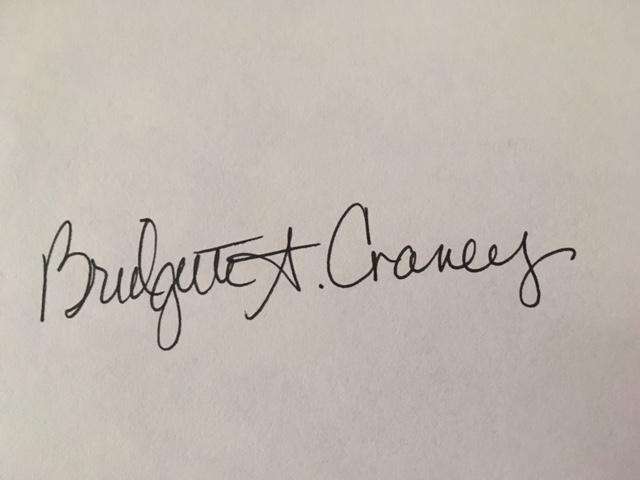 bridgette craney's Signature