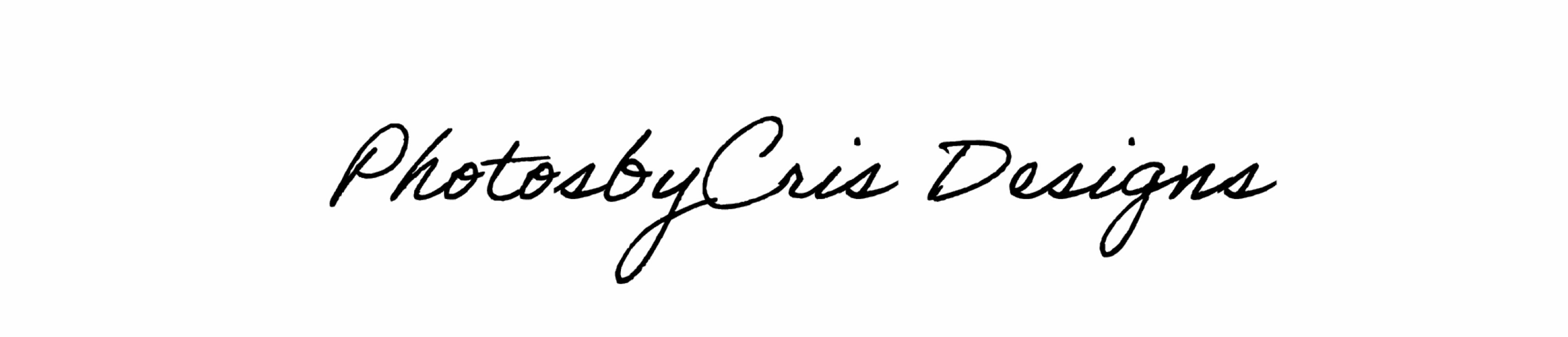 PhotosbyCris designs's Signature