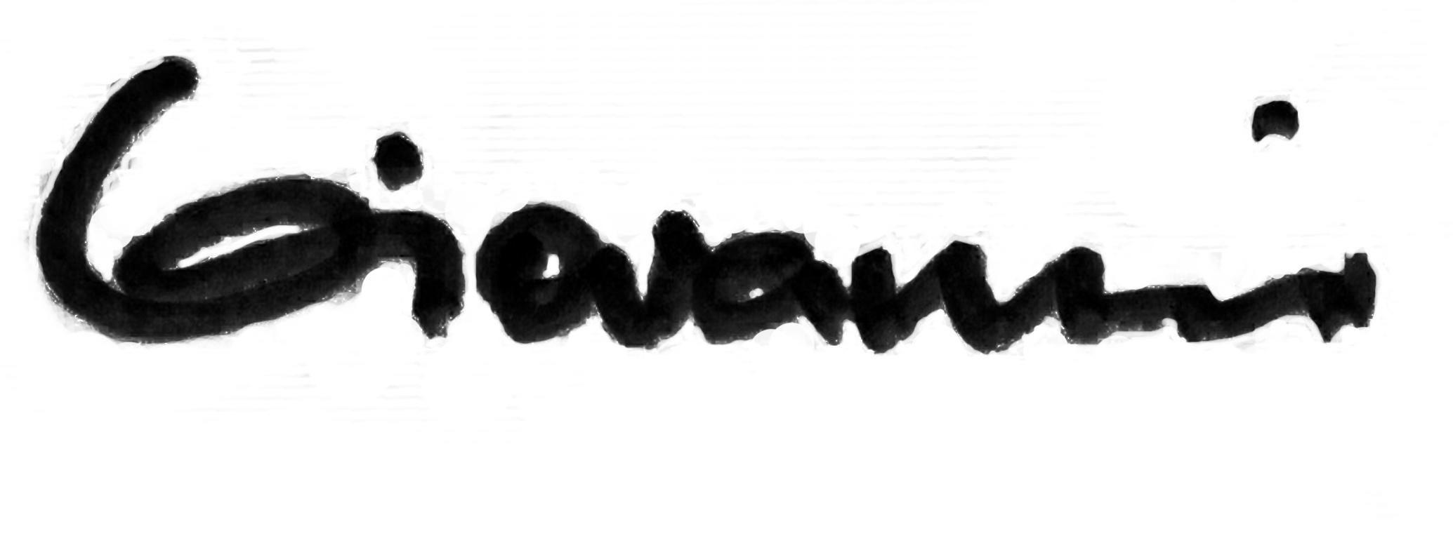 Giovanni  G  Cavuoto's Signature