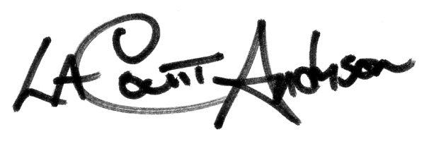 LaCount Anderson's Signature