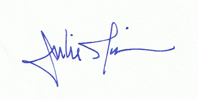 julie morin's Signature
