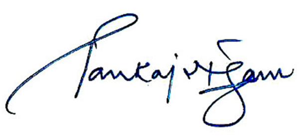 Pankaj Nigam's Signature