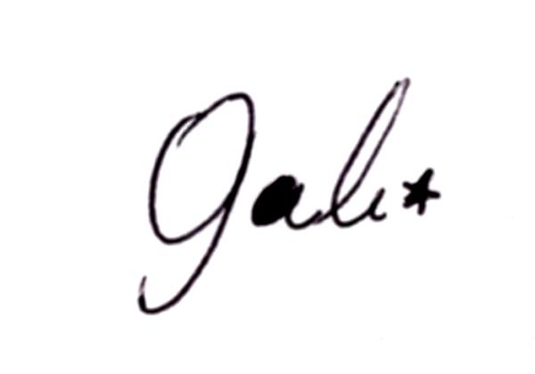 Sofia Gali's Signature