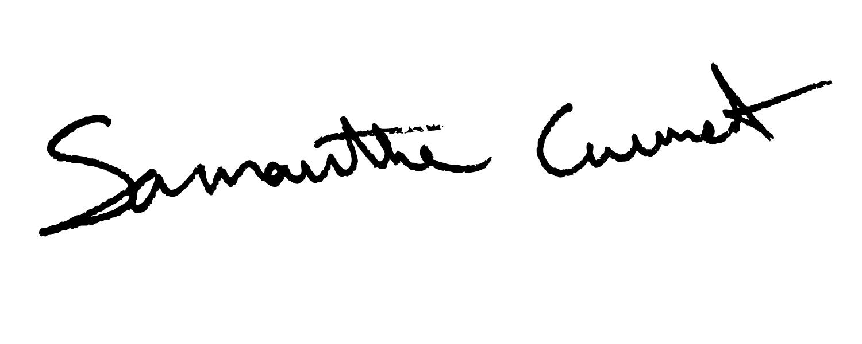 Samantha Current's Signature
