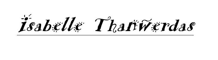 isabelle thanwerdas's Signature