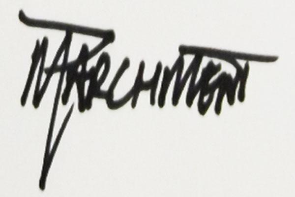 Michael L. Parchment's Signature