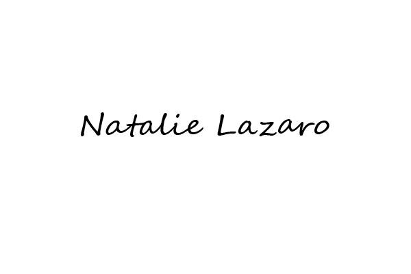 Natalie LAZARO's Signature