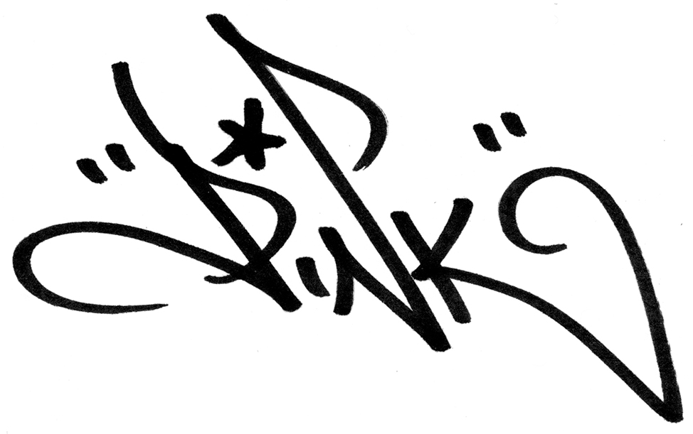Lady Pink's Signature