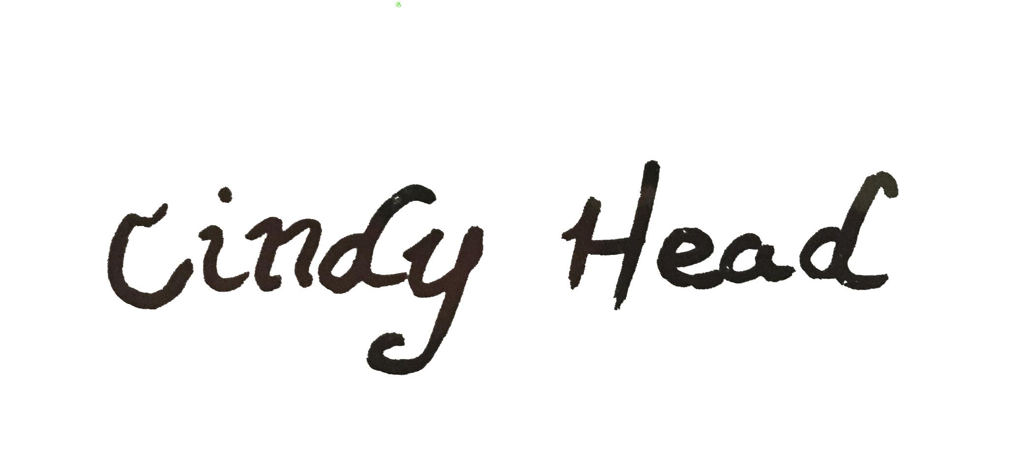 Cindy head's Signature