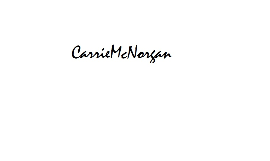 Carrie mcnorgan's Signature