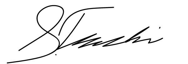 Stefan tschumi's Signature