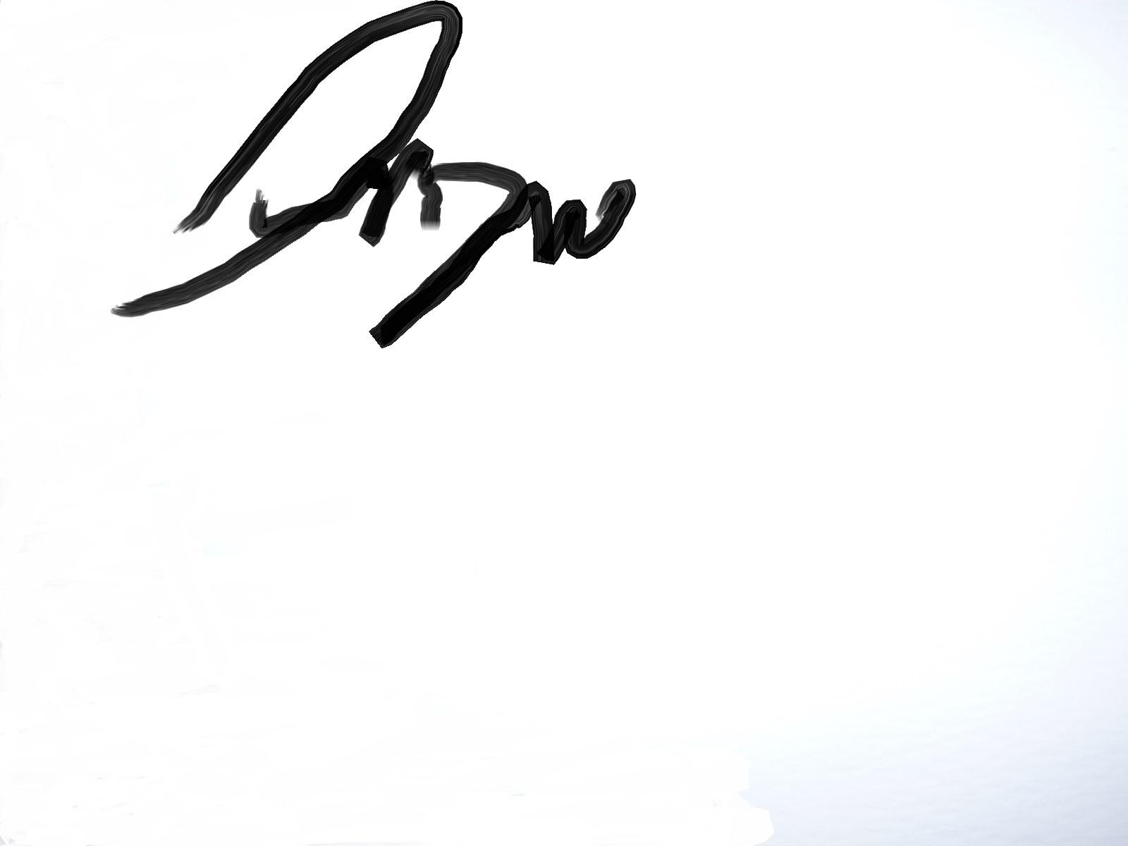 annie prause's Signature