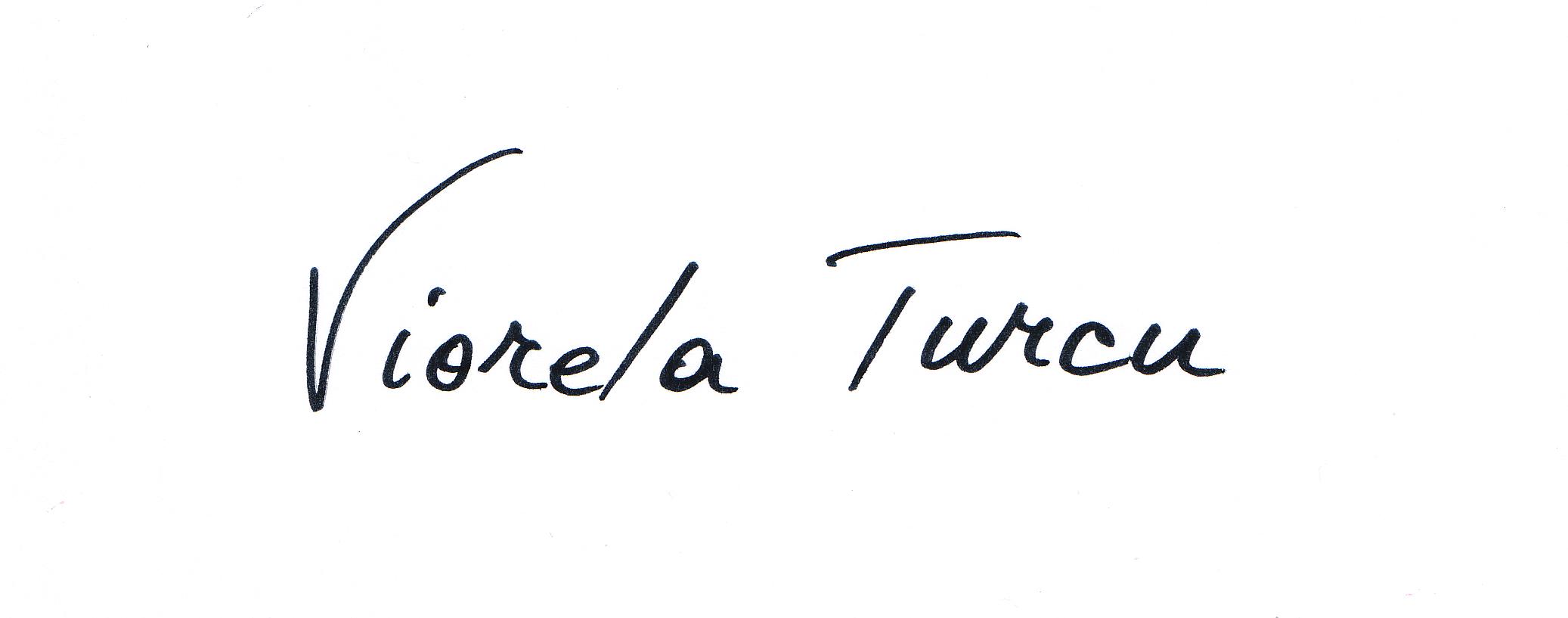 viorela turcu's Signature