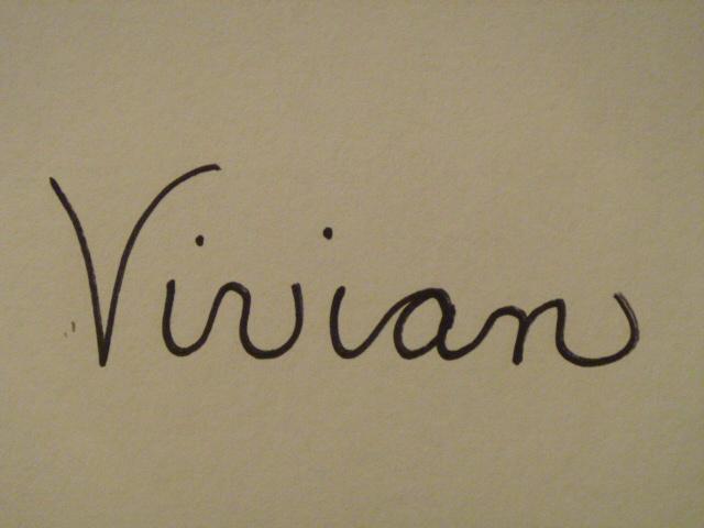 Vivian Stearns-Kohler's Signature