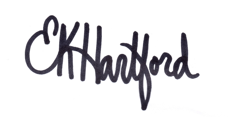 Elizabeth Hartford's Signature
